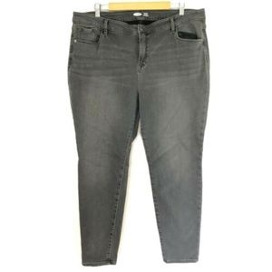 Old Navy Womens Jeans Rockstar Super Skinny Warm